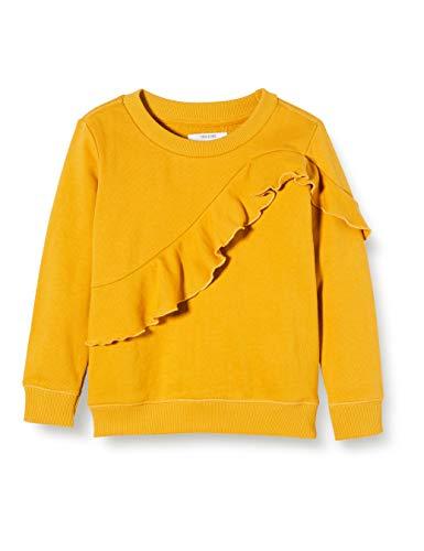Noppies Mädchen G Sweater ls Crockett Sweatshirt, Gelb (Narcissus P437), (Herstellergröße: 104)
