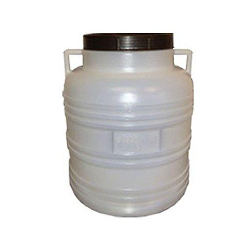 Preisvergleich Produktbild weithalsfass 30 Liter weiss mit Schraubdeckel. Neu und Lebensmittelecht