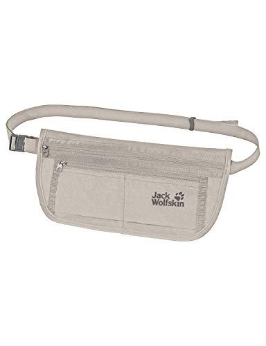 Jack Wolfskin Document Belt DE Luxe Stufenlos Einstellbarer Bauchgurt, Dusty Grey, ONE Size