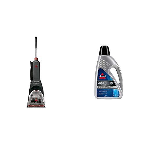 BISSELL Compact Carpet Cleaner Teppichreinigungsgerät + Wash&Protect Pro Reinigungsmittel