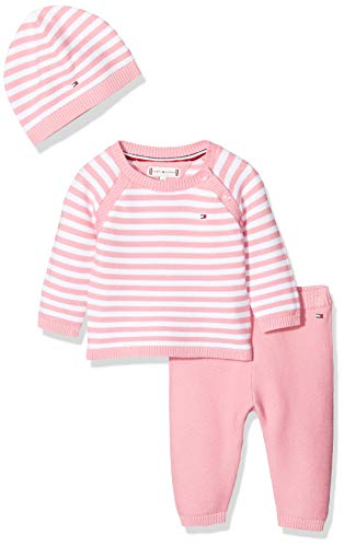 Tommy Hilfiger Baby Stripe Knitted Giftbox muts, uniseks
