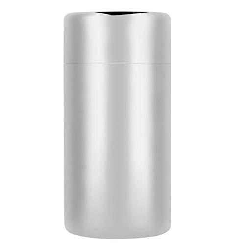 Tarro de almacenamiento sellado para té, contenedor de té con espejo pulido, portátil para leche en polvo para uso en el hogar y cocina (550 ml)