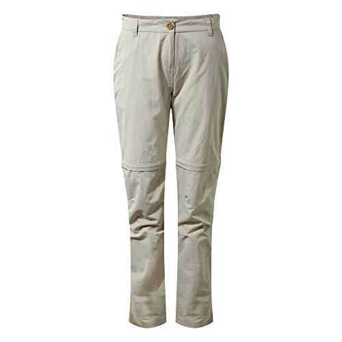 Craghoppers NL Conv TRS Pantalon, Sabbia Del Deserto, 8 Femme