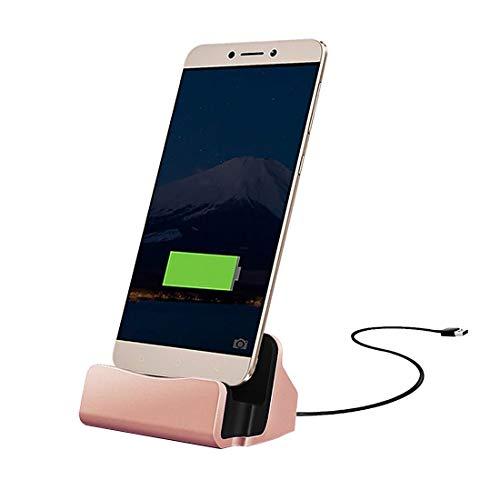 Funda impermeable para smartphone Cargador USB / C / Tipo C 3.1 Datos sincronizados / Base de carga, Para Galaxy S8 y S8 + / LG G6 / Huawei P10 y P10 Plus / Xiaomi Mi 6 y Max 2 y otros teléfonos intel