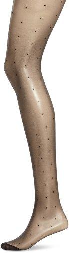 Dim Style Panty Fantasía Plumetis 15D Medias, Negro (Negro 127), Medium (Tamaño del fabricante:3)...