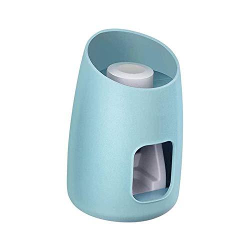 SFLRW Dispensador de pasta de dientes, dispensador automático de pendientes de pasta de dientes para niños y ducha familiar, es de accesorios de baño de montaje en pared con supervisión súper pegajosa