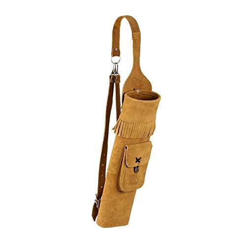 elToro - Carcaj para la espalda, con bolsillo