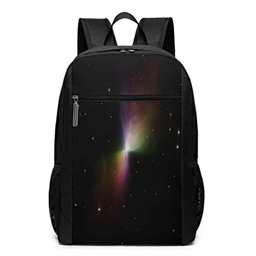 ZYWL Boomerang Mystery Galaxy Nebula Space Universe Utra-Premium Mochila de Viaje para computadora portátil de 17 Pulgadas, Bookbag, Business Bag