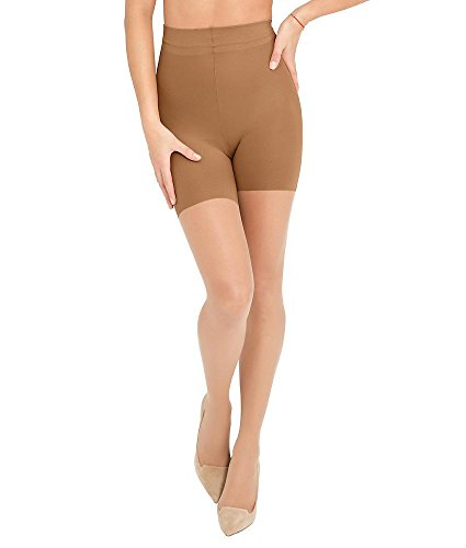 ASSETS Red Hot Label by SPANX Firm Control Shaping Pantyhose, 2, Barest Bare