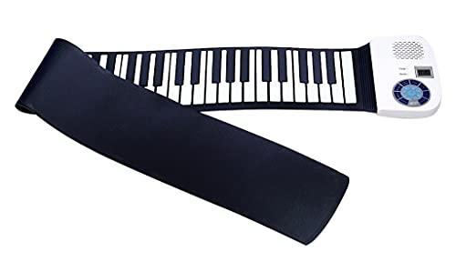 FEFCK Rollup Klavier Handrolle Piano-Tastatur 88/61 Keys Verdickte...