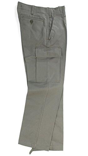 Robuste olive armée allemande moleskin pantalon bW-taille 2 (23)