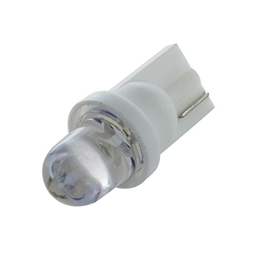 SODIAL 10x W5W ampoule veilleuse led 158 168 194 T10 2825 BLANC XENON Plafonnier Effet