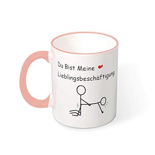O4EC2-8 11 oz Du bist Meine Lieblingssache zu tun Becher Tasse Porzellan Personalize Becher - Lustige Liebhaber-Geschenke Mädchen Geschenke (Beidseitig Bedrucken) vcbe 330ml