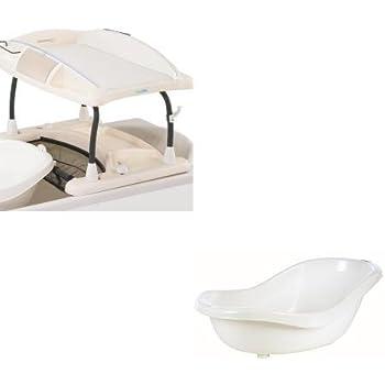 Bebe Confort Duo Bain Et Table A Langer Amplitude Baignoire Offerte Bb Doux Amazon Fr Bebes Puericulture