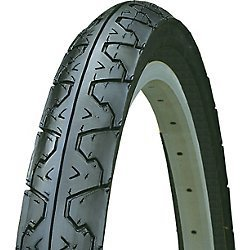 "Kenda Big City Slick Wire Bead Bicycle Tire, Blackwall, 26 x 1.95"""
