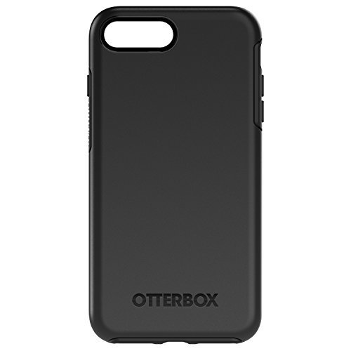 OtterBox 77-53951 Custodia Serie Symmetry Protezione Sottile e Minimalista per iPhone 8 Plus/iPhone 7 Plus, Nero