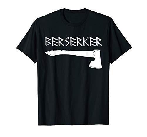 Berserker Axt Wikinger Viking Odin Thor Walhalla Asgard T-Shirt