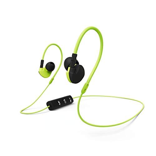Hama Active BT Mobiles Headset Binaural im Ohr Schwarz, Gelb Kabellos - Mobile Headsets (Kabellos, im Ohr, Binaural, Ohrumschließend, 96 dB, Schwarz, Gelb)