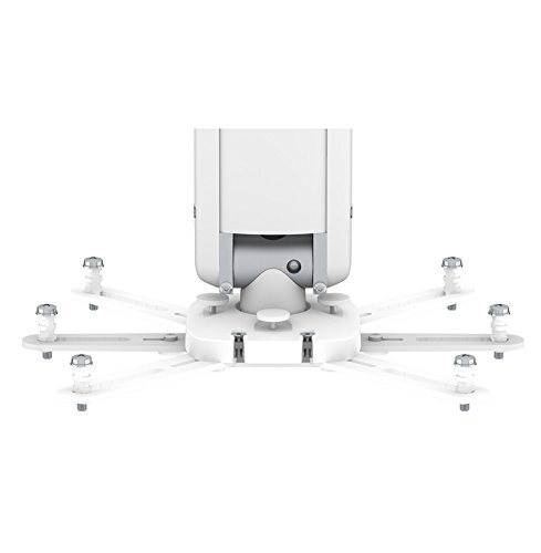 Smart Media Precision Pro 500 Beamer plafondbeugel wit - houders voor beamer (plafond, 30 kg, wit, -180 - 180°, -60 - 60°, 500mm)