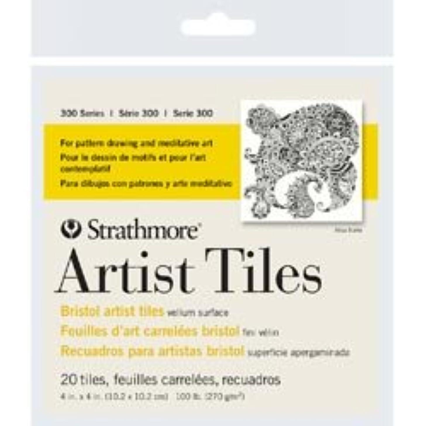 Bulk Buy: Strathmore (3-Pack) Artist Tiles 4in. x 4in. 20/Pkg Bristol Vellum 62105970