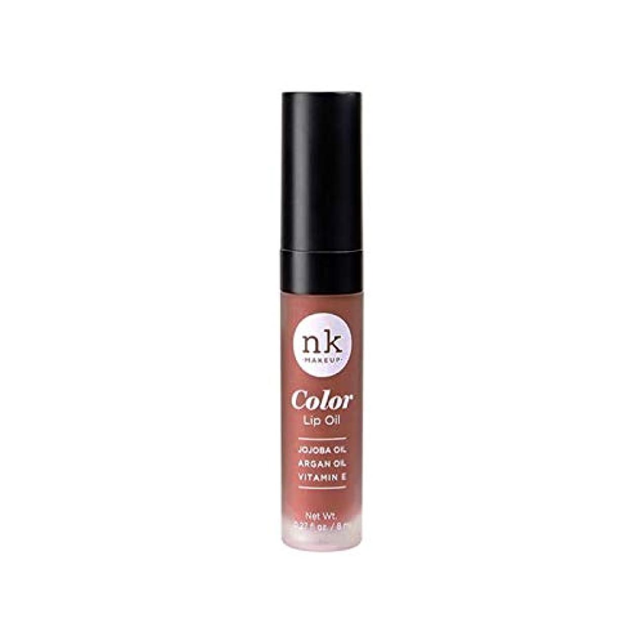下手把握尊敬するNICKA K Color Lip Oil - Shy Chai (並行輸入品)