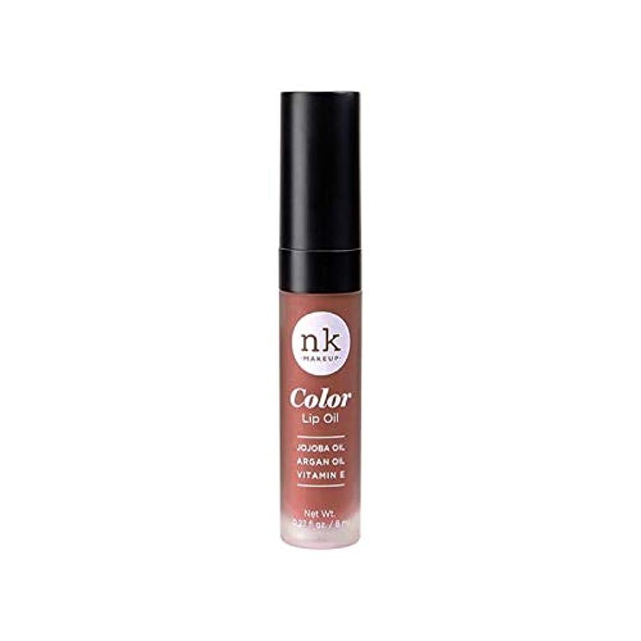 同性愛者延期する目を覚ます(3 Pack) NICKA K Color Lip Oil - Shy Chai (並行輸入品)