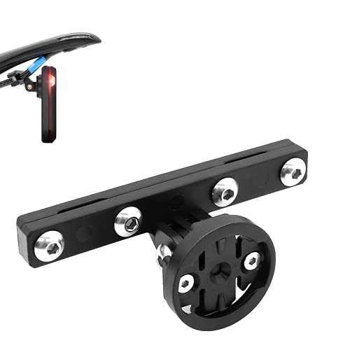Thinvik Varia Mount Compatible for Garmin,Adjustable Varia Bike Mount.Compatible with Garmin Varia Rearview Radar RTL510,Taillight,Gopro Camera.for Bicycle Saddle, Bike Seat Bow Mount Holder