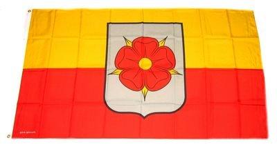 Fahne / Flagge Lippe Rose - Detmold NEU 90 x 150 cm
