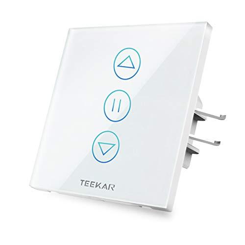 buenos comparativa [4ta generación]TEEKAR xShutter – Interruptor de persiana WiFi con temporizador, controles … y opiniones de 2021