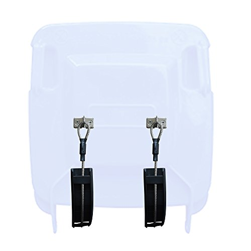 YYST Bin Strap Bin Holder No Chew ! Instruction is Included No Bin - Easy to Attach and De - Attach