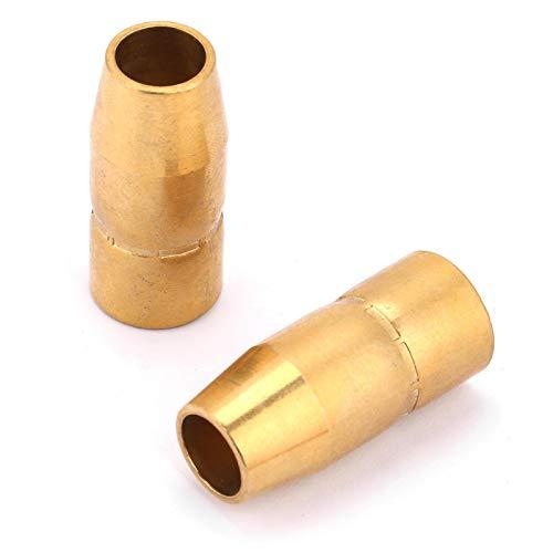 La punta de contacto de la boquilla, las piezas Mig se ajustan a las piezas Miller Mig para herramientas manuales para la industria