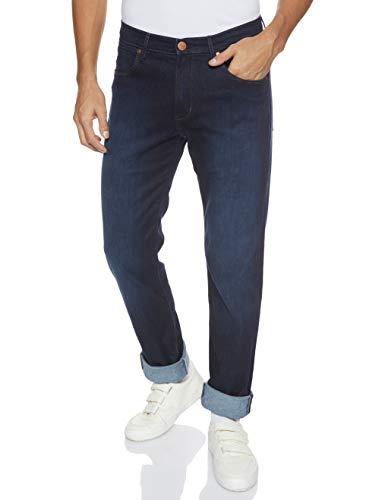 Wrangler Arizona, Jeans Rectos para Hombre, Azul (Blue Stroke 1o), W46/L34