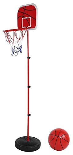 GTYMFH Junta de Baloncesto Soporte Juguete, Mini Tablero Trasero de Baloncesto Conjunto de Juguete con Las Piezas for niños Que practican el Baloncesto al Aire Libre de Interior Juegos Familiares