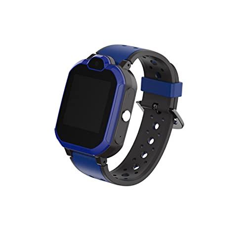 LOULE Reloj Inteligente para Niños 4G con Seguimiento GPS Llamada Remota Reloj Educativo para Niños Múltiples Funciones Adecuado para Regalos de Cumpleaños para Niños