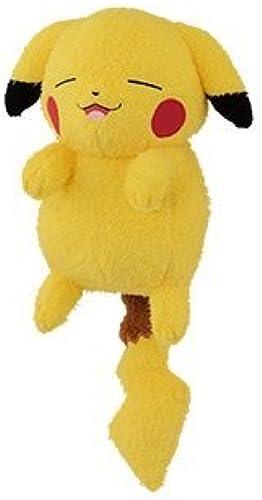 Appearance PikachuJapan import of Pokemon Sunmoon Poke tightly huge stuffed PikachuVulpix Arora