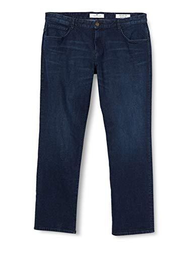 TOM TAILOR Herren Jeanshosen Josh Regular Slim Jeans, 10157-Blue Rinse Denim, 33W / 34L