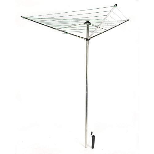OSE Séchoir à Linge Parapluie Pliable avec Support
