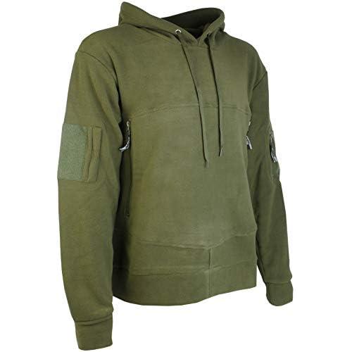 Savage Island Mens Windproof Tactical Fleece Recon Hoodie