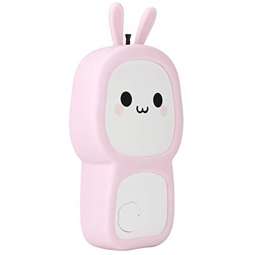 Redxiao 【𝐎𝐟𝐞𝐫𝐭𝐚𝐬 𝐝𝐞 𝐁𝐥𝐚𝐜𝐤 𝐅𝐫𝐢𝐝𝐚𝒚】 Limpiador de Aire Silicone + ABS, purificador casero, USB Alimentado con Cuerda para Ministerio del Interior(Pink)