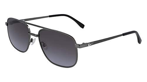 Lacoste L231S-024 Gafas, Dark Grey, 57/18/140 para Hombre