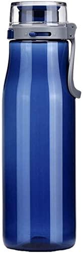ZGLXZ Sport Bottiglia di Acqua Sport Tazza Tritan One-Click Open Cup Lock Grande Diametro Portatile Tazza di Acqua 750 ML Gym Water Bottle