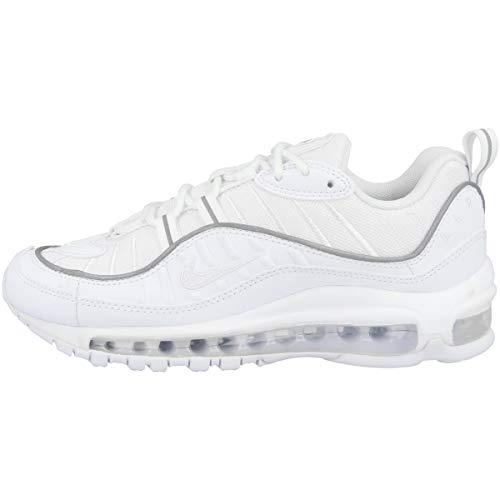 Nike Damen W Air Max 98 Laufschuhe, Weiß (White/White/White 114), 40 EU