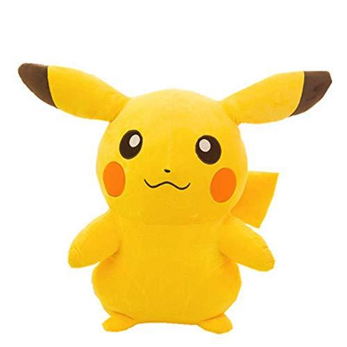 WUTONG Pokemon Pikachu ausgestopfte Puppen 35cm, niedliche Pikachu Plüschtiere weiche PP-Baumwolle Kinderspielzeug Geburtstagsgeschenke Pokemon Kuscheltier