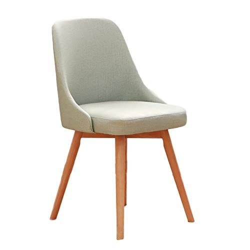 HUAYIN Moderna de la Sala de Estar, Comedor de Cuero del Ocio sin Las sillas de los apoyabrazos   Sillón Club con cojín Suave y Respaldo para sillón Decorativo para el hogar,Verde
