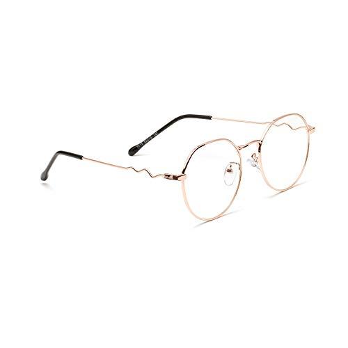 RUIXFPU Komfortabel Anti Blaulicht Computer Brille Blaulichtfilter Brille ohne Sehstärke für Damen Herren, Transparent Blaulichtblockierend Blendfrei Anti Augenmüdigkeit Blaulicht Gläser Leicht, 1