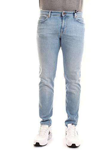 Roy Roger's P21RRU075D1410373C8 Jeans Uomo Denim Chiaro 38