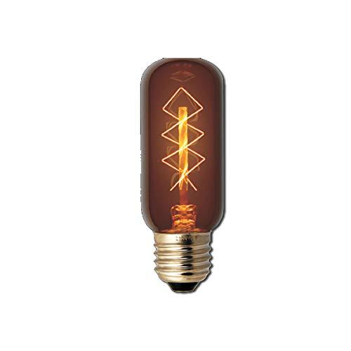 Kohlefadenlampe Old Style Retro T38 230V 25W E27-38x108