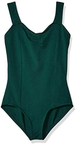 Capezio Girls' Big Classic Princess Tank Leotard, Hunter, Large