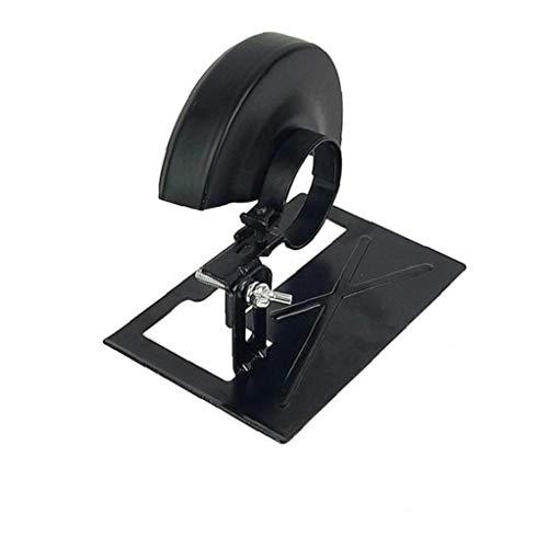 Zonfer 1pc Winkelschleifer Spezielle Bracket Safety Shield Werkzeug Winkelschleifer Paddelschalter-Reparatur-Werkzeug Sicherheitszubehör Schwarz