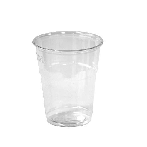 Ilip Bicchiere Compostabili Ecologici, Trasparenti, 200 Pezzi